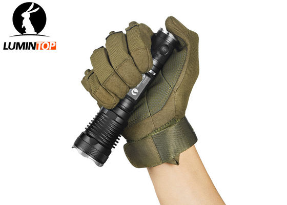 China Easy Operate Lumintop Td15s Flashlight , Tactical Police Flashlight With Fliter supplier