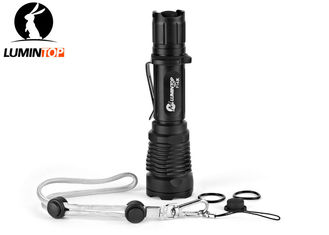 China Powerful Hunting LED Flashlight Brightness 15000CD Beam Distance 245 Meters supplier