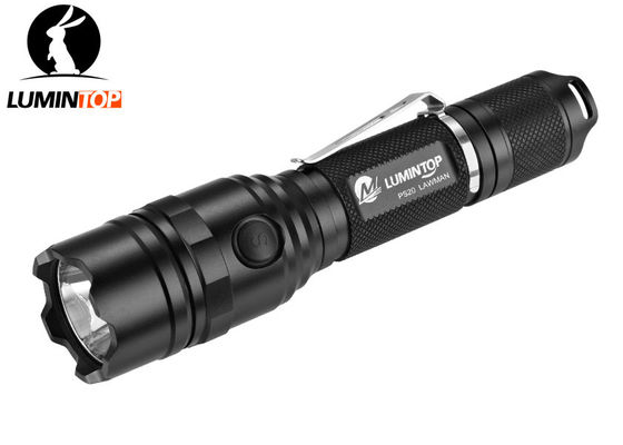 China Special Tactical Lumintop Ps20 Flashlight , IPX - 8 Waterproof LED Flashlight supplier