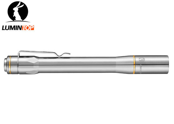 China Titian Alloy Lumintop Iyp365 Ti AAA Flashlight , Powerful LED Pen Flashlight supplier