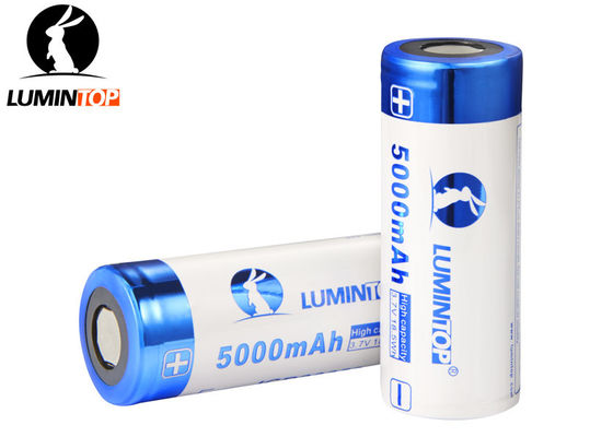 China Circuit Protected 26650 Rechargeable Battery , Professional Rechargeable Torch Battery supplier