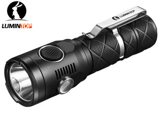China USB Rechargeable Police Security LED Flashlight supplier