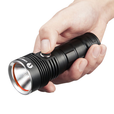 China 19600cd Intensity Hunting Torch Light 2m Impact Resistance With Low Voltage Indicator supplier