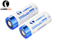 Li Ion Rechargeable Flashlight Batteries 3.7V 5000mAh High Capacity