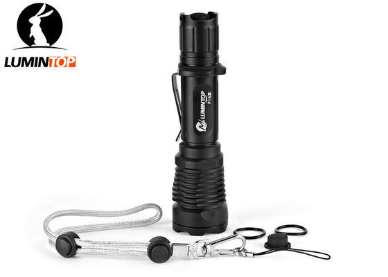 Powerful Hunting LED Flashlight Brightness 15000CD Beam Distance 245 Meters