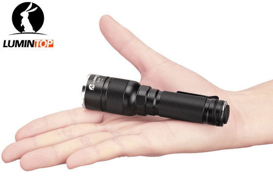 Tail Switch Tactical LED Flashlight 130 Lumens 1 Hour Output Cree XP-G2 R5 LED
