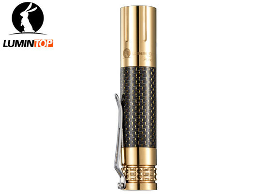 High - End Lumintop Copper Prince Flashlight 1.5 Meters Impact Resistance